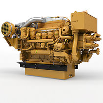 Motor para barco profesional / de propulsión / diésel / turbo