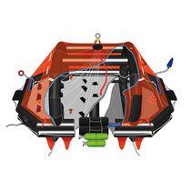 Balsa salvavidas para buque / de altura / SOLAS / despliegue de pescante
