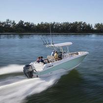 Barco open fueraborda / de pesca deportiva / con T-top