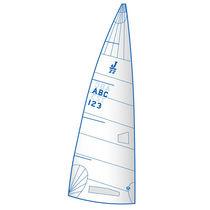 Vela mayor / para barco de quilla monotipo de deporte / J22