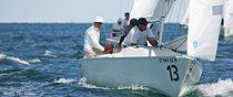Vela mayor / para barco de quilla monotipo de deporte / Sonar