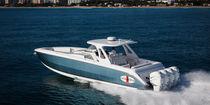 Barco open fueraborda / fueraborda cuatrimotor / offshore / con T-top