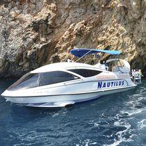 Barco de visión submarina intraborda / fueraborda / hidroala