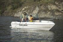 Barco open fueraborda / de pesca deportiva / 5 personas máx.