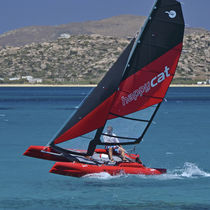 Catamarán deportivo de recreo / hinchable