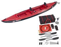 Kayak sit-on-top / inflable / de travesía / 2 plazas