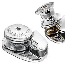 Molinete para barco / vertical / eléctrico / tambor simple