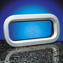 Portillo rectangular / para barco / abrible / con bordes redondeados