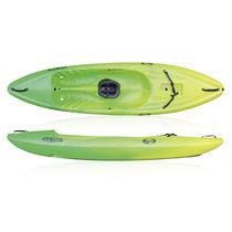 Kayak sit-on-top / rígido / aguas bravas / de recreo