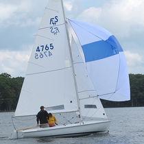 Spinnaker / para barco de quilla monotipo de deporte / cross-cut