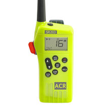 Radio marina / para buque / portátil / VHF