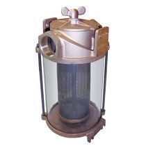 Filtro de agua bruta / para barco / para motor