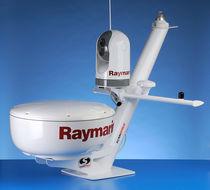 Soporte de antena radar / GPS / de acero inoxidable / mástil
