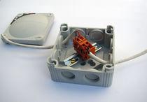 Caja de empalme eléctrica / para barco