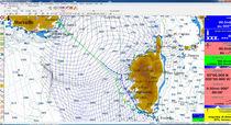Software de navegación / de previsión del tiempo / de routing / para velero