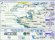 Software de navegación / para barco