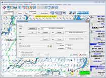 Software de routing / de navegación / de previsión del tiempo / para barco