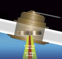 Sensor de temperatura / de profundidad / para barco / pasacasco inclinado