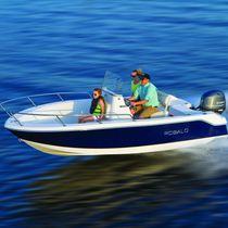 Barco open fueraborda / de pesca deportiva / 6 personas máx.