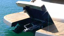 Ascensor de bote / montado en yate