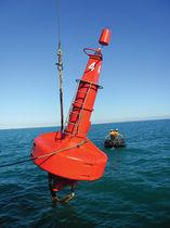 Boya de baliza / alta mar / con luz de señalización