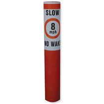 Boya de balizamiento / límite de velocidad / de polietileno