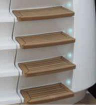 Lámpara de cortesía / de exterior / de barco / para escalera