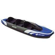 Kayak sit-on-top / inflable / de travesía / 3 plazas