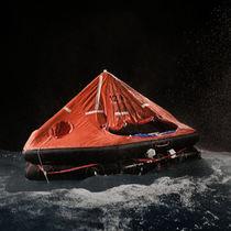 Balsa salvavidas para buque / MED / lanzable / inflable