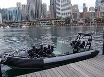 Barco militar intraborda / fueraborda / embarcación neumática semirrígida