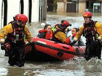 Barco de salvamento fueraborda / embarcación neumática