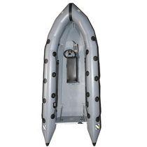 Barco de trabajo fueraborda / embarcación neumática semirrígida