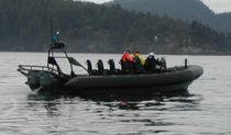 Barco militar fueraborda / de aluminio / embarcación neumática semirrígida