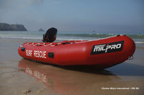 Barco de salvamento fueraborda / embarcación neumática semirrígida
