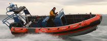Barco utilitario fueraborda / de aluminio / embarcación neumática semirrígida