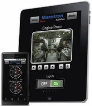 Software para sistemas de control y de alarma / para barco / para smartphone