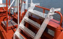 Escalera para buque / lateral / de embarque / para espejo de popa