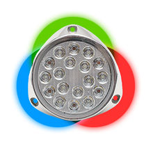 Iluminación subacuática para barco / LED / para montaje en superficie / multicolor