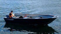 Barco de trabajo multiusos fueraborda / de aluminio