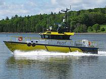 Embarcación piloto intraborda / de aluminio
