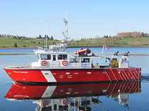 Embarcación de investigación científica intraborda / de aluminio