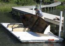 Pantalán flotante / para amarre en seco / para puerto deportivo