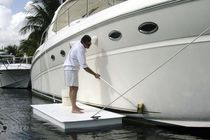 Pantalán flotante / de trabajo / para puerto deportivo