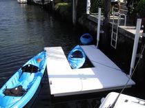 Rampa para botar embarcaciones kayak / flotante para canoa