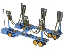 Remolque para trabajos pesados / de varada / para astillero naval / autopropulsado