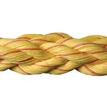Cuerda de amarre / flotante / trenzada / para buque