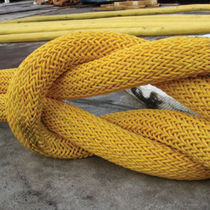 Cuerda remolque para buque / dobles trenzadas / de buque