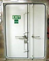 Puerta para buque / cortafuegos / para cámara frigorífica