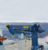 Grúa con compensación activa / para buque / de cubierta / de mástil