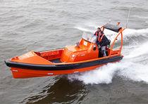 Barco de salvamento hidrojet intraborda / de aluminio